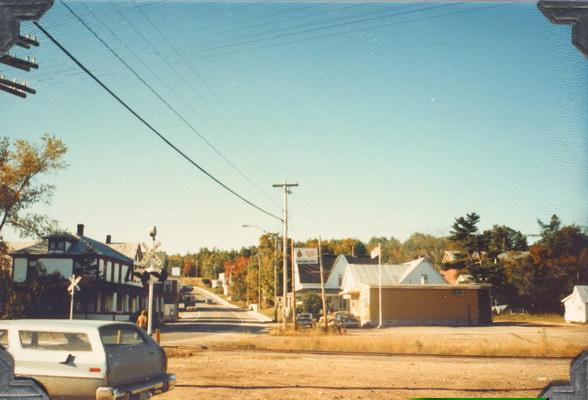 Photograph of Harvey Station taken approximately 1980 by Archie and ellenor Piercy of Comox, BC. Image thanks to J. Hall.