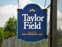 Taylor Field sign