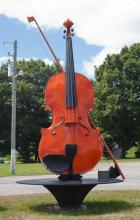 Don Messer Fiddle Monument